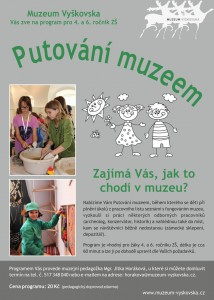 Putování muzeem_pozvánka pro školy