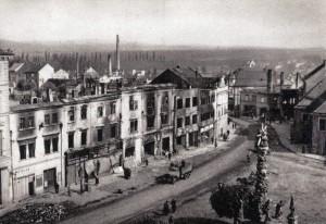 Vyškov 1945 - náměstí